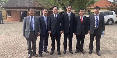 2019年2月25日 广州科升董事总经理黄小平先生应中国外交部主管属下中非协会邀请前往南苏丹考察